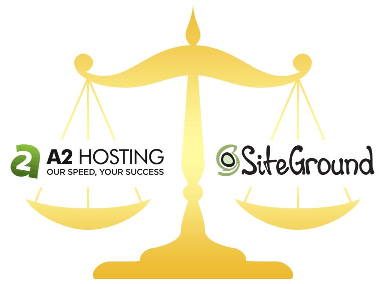 A2 Hosting vs SiteGround Hosting Comparison