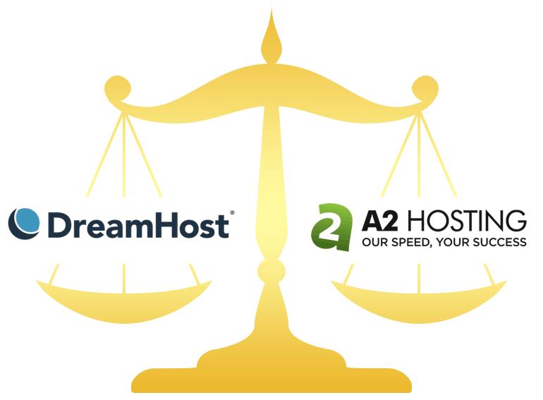 DreamHost vs A2 Hosting
