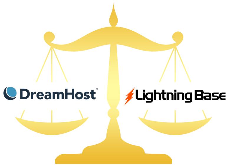 DreamHost vs Web Hosting Hub