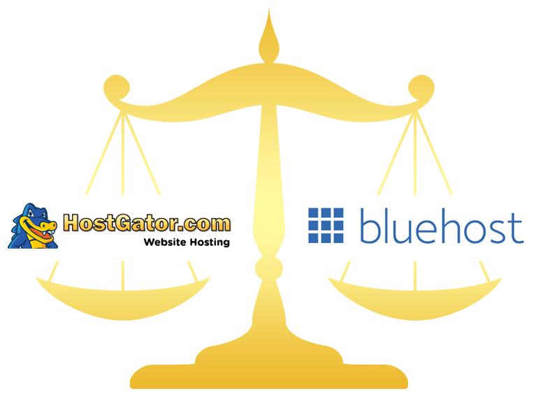 HostGator vs Bluehost