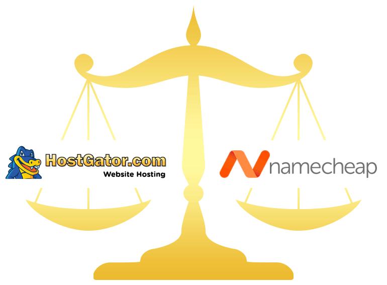 HostGator vs Namecheap