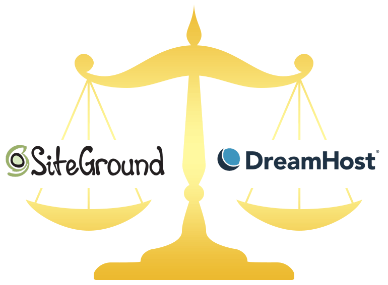 SiteGround vs DreamHost Hosting Comparison