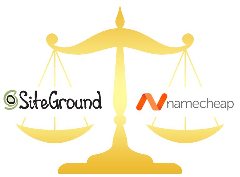 SiteGround vs Namecheap