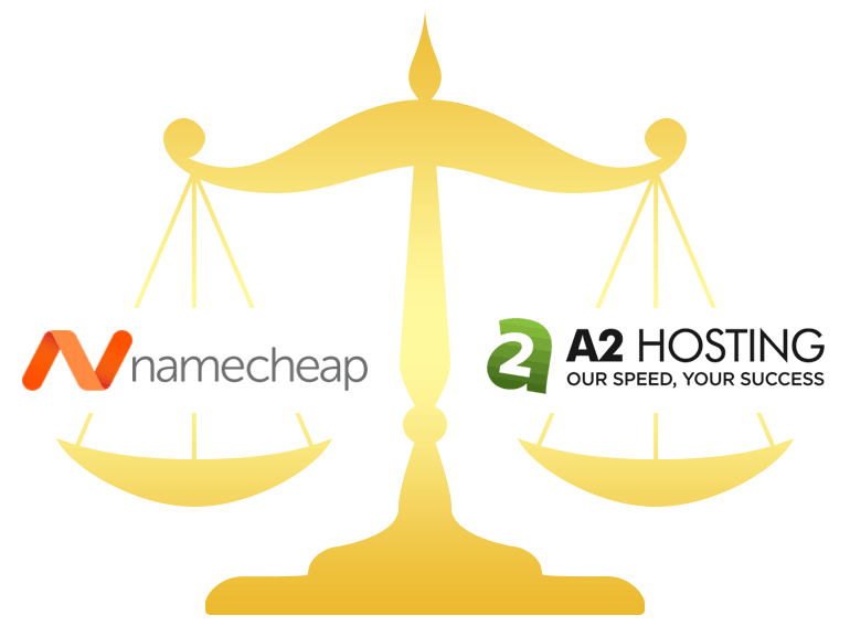 Namecheap vs A2 Hosting