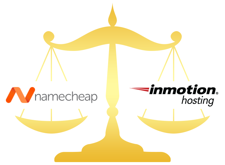 Namecheap vs InMotion Hosting