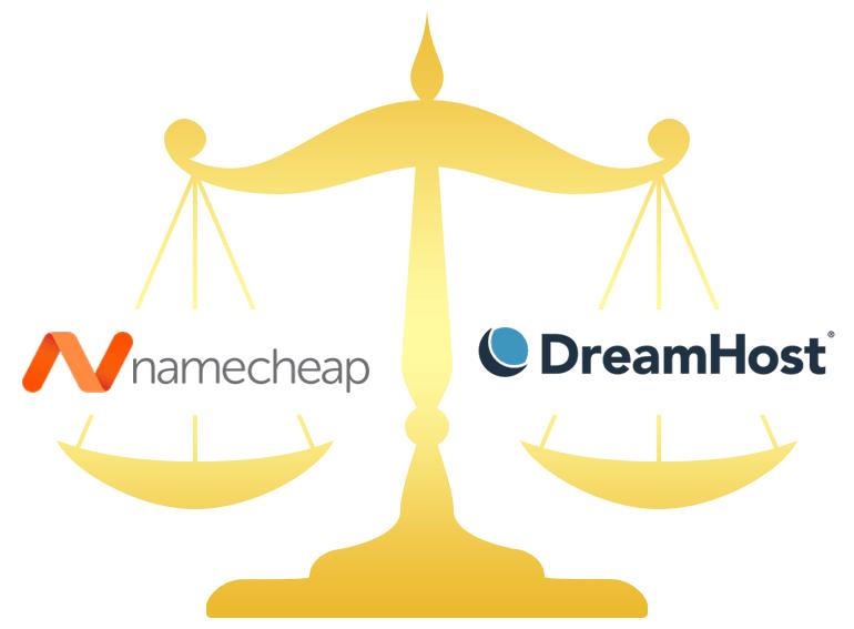 Namecheap vs DreamHost Comparison