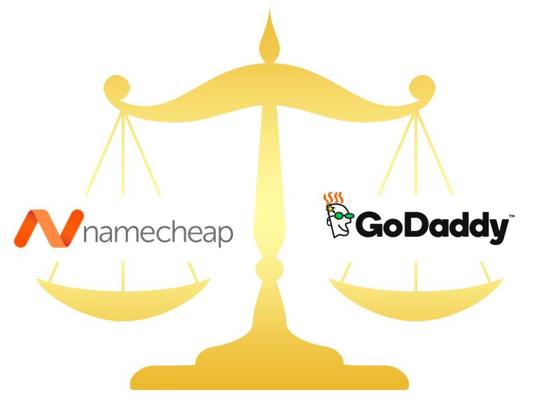 Namecheap vs GoDaddy Comparison