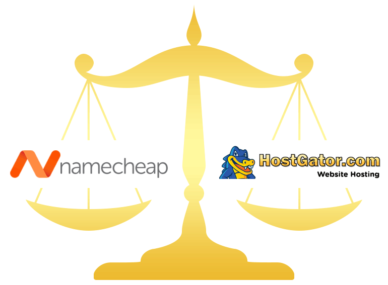 Namecheap vs HostGator Comparison