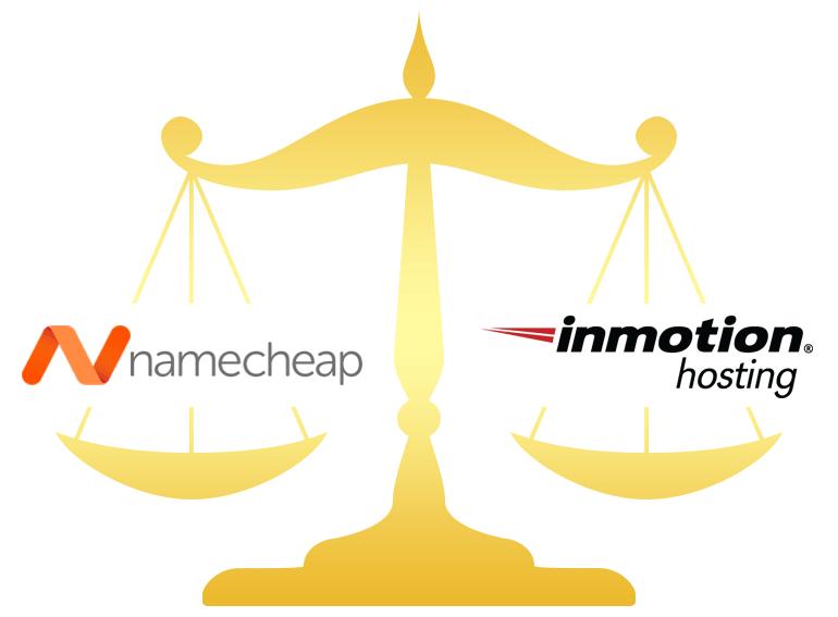 Namecheap vs InMotion Hosting Comparison