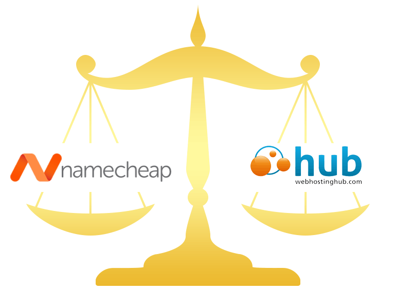 Namecheap vs Web Hosting Hub Comparison