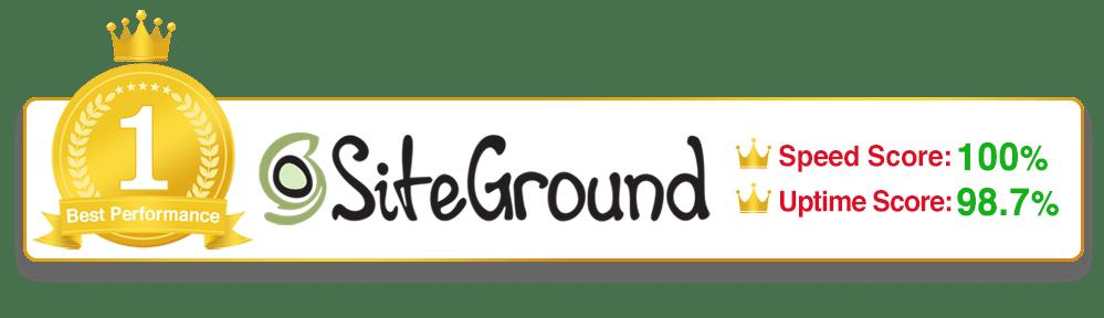 #1 WordPress Host - SiteGround