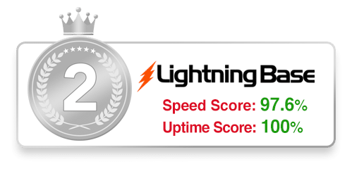#2 WordPress Host - Lightning Base