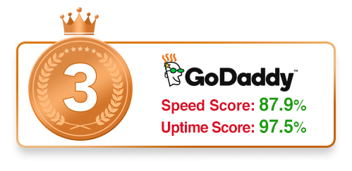 #3 WordPress Host - GoDaddy