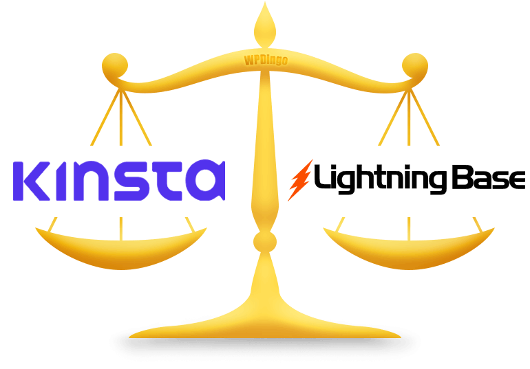 Kinsta vs Lightning Base