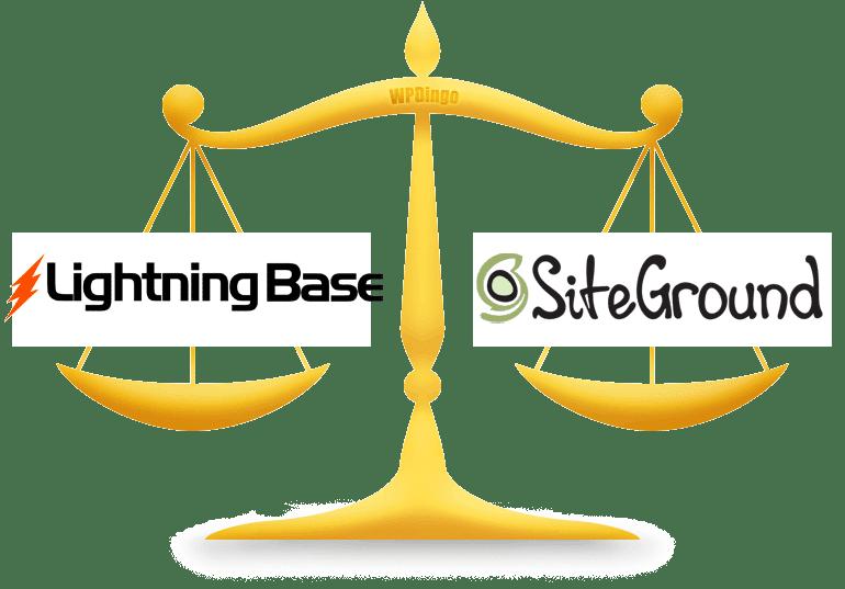 Lightning Base vs SiteGround