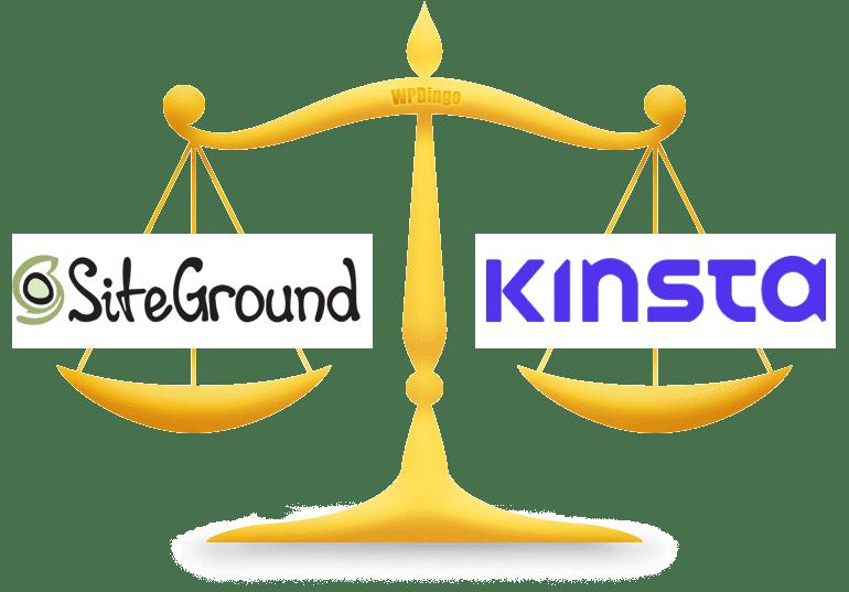 SiteGround vs Kinsta