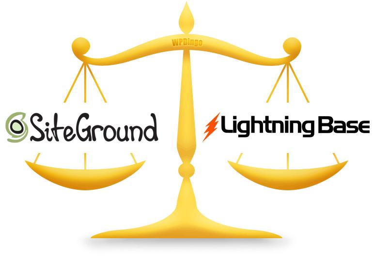 SiteGround vs Lightning Base