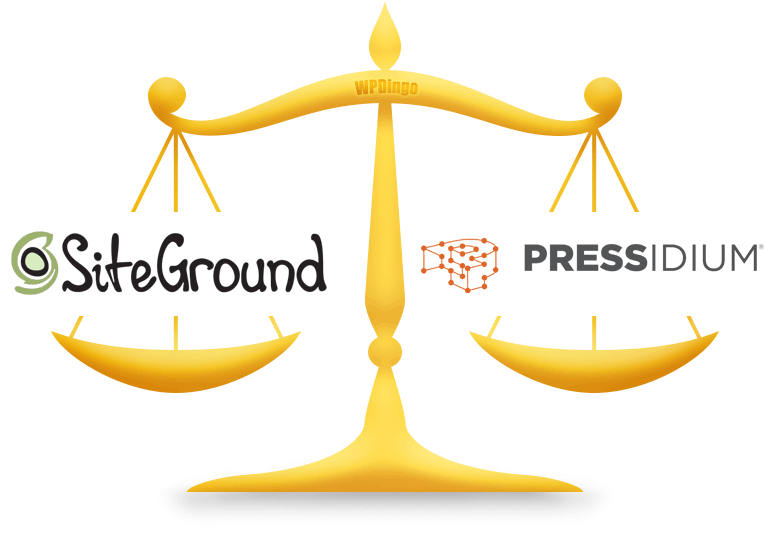 SiteGround vs Pressidium