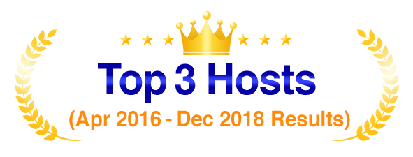 Top 3 WordPress Hosts